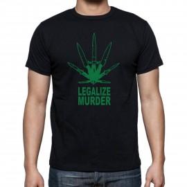"""Тениска """"LEGALIZE MURDER"""" изображения"""