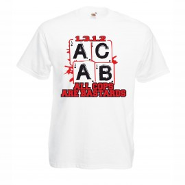 Мъжка тениска ACAB Poker изображения