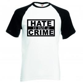Тениска HATE is not a CRIME изображения
