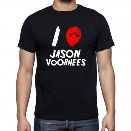 Тениска I love Jason изображения