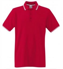 Мъжка тениска Червено и бяло изображения