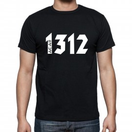 """Мъжка тениска """"ACAB/1312"""" изображения"""