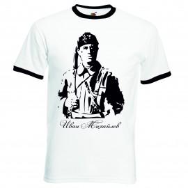 Патриотична тениска Иван Михайлов изображения