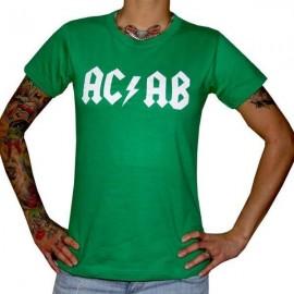 """Дамска тениска """"AC/AB"""" изображения"""