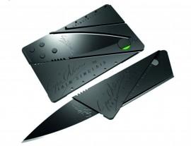Мини джобен нож кредитна карта изображения