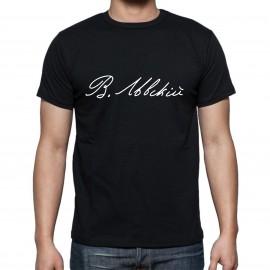 Черна тениска В. Левски изображения