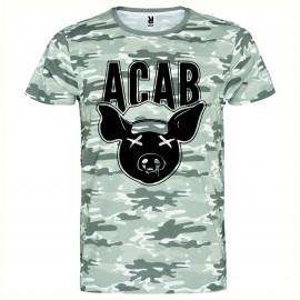 Камуфлажна тениска ACAB PIG изображения