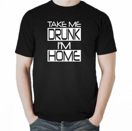 Мъжка тениска Take Me Drunk