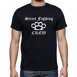 "Tениска ""Street Fighting CREW"" изображения"