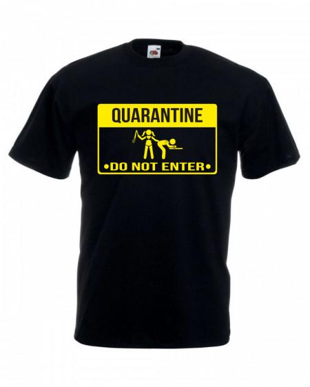 Мъжка тениска QUARANTINE изображения