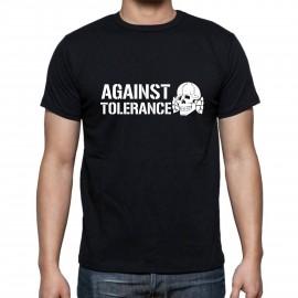 """Тениска """"Against tolerance"""" изображения"""