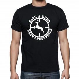 Тениска HUNT A PEDOPHILE