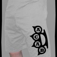 Къси спортни панталонки  ACAB БОКС