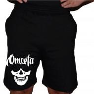 Къси спортни панталонки OMERTA SKULL