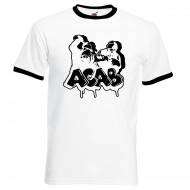 Тениска АCAB Grafite