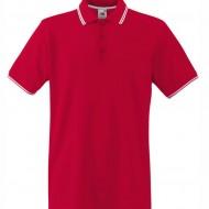 Мъжка тениска Червено и бяло