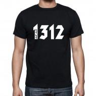 """Мъжка тениска """"ACAB/1312"""""""