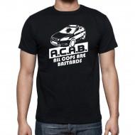"""Мъжка тениска """"ACAB POLICE CAR"""""""