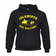 Суитчър Islamists not welcome