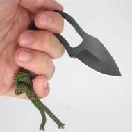Мини нож с кожен калъф