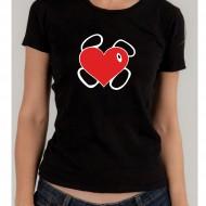 """Дамска тениска """"Сърце"""""""