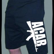 Къси спортни панталонки ACAB AK-47