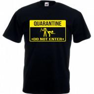 Мъжка тениска QUARANTINE