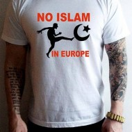"Tениска ""NO ISLAM IN EUROPE"""