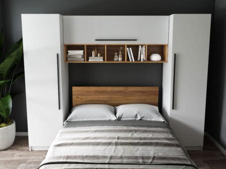 Set Dormitor Ruxandra 2.56m cu pat incadrat