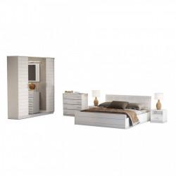 Dormitor Afina MDF lucios
