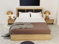Dormitor Luna Stejar Auriu
