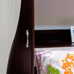 Cameră Tineret Laguna, PAL Melaminat, Wenge + Stejar Ferrara