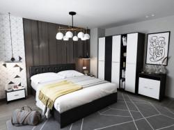 Dormitor Ruxandra tapitat