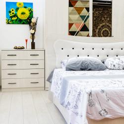 Set Dormitor Dante, PAL melaminat, Stejar Ferrara