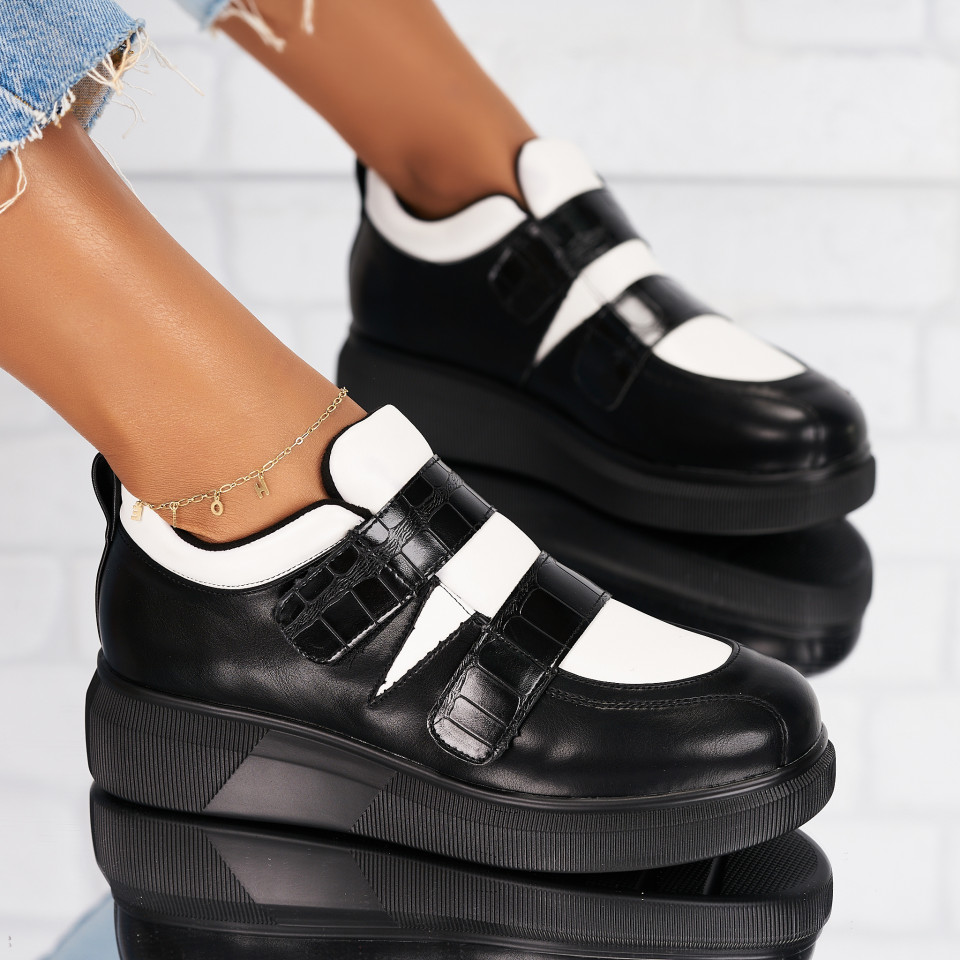 Pantofi Casual Piele Ecologica Albi Randi X6326