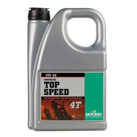 MOTOREX - TOP SPEED 5W40 - 4L
