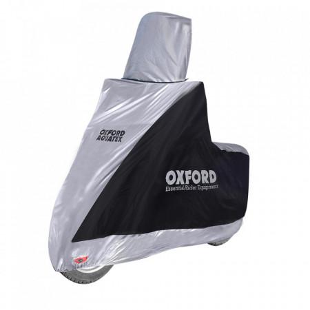 OXFORD - husa moto / scooter AQUATEX - pentru parbriz inalt, small (S)