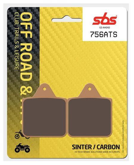 SBS - Placute frana OFFROAD / ATV - SINTER CARBON 756ATS