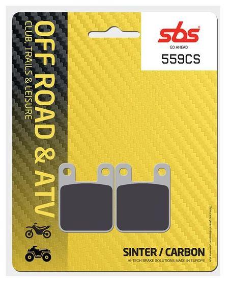 SBS - Placute frana OFFROAD - CARBON SINTER 559CS