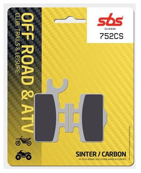 SBS - Placute frana OFFROAD - CARBON SINTER 752CS