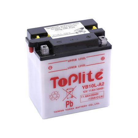 TOPLITE YUASA - Acumulator cu intretinere YB10L-A2