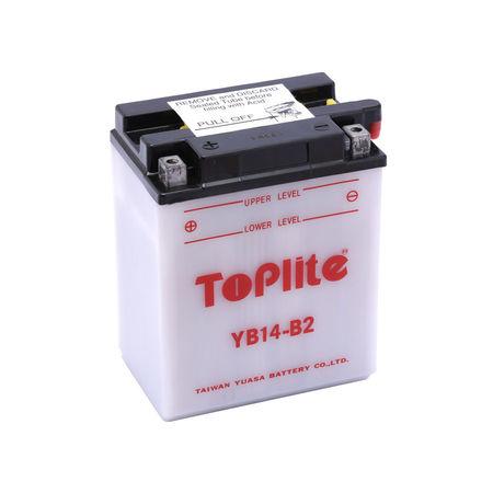 TOPLITE YUASA - Acumulator cu intretinere YB14-B2