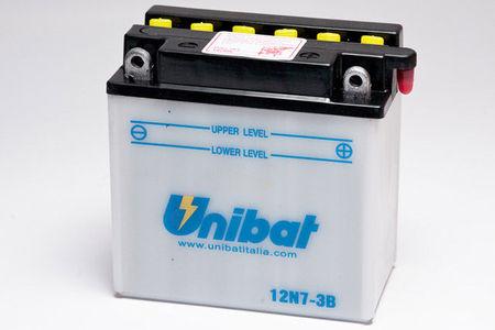 UNIBAT - Acumulator cu intretinere 12N7-3B-SM (12N7-3B)