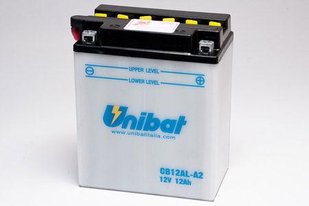 UNIBAT - Acumulator cu intretinere CB12AL-A2-SM (YB12AL-A2)