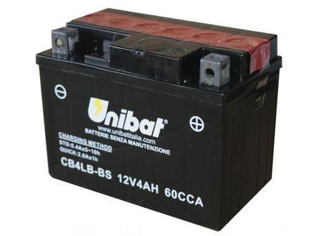 UNIBAT - Acumulator fara intretinere CB4LB-BS (YB4L-B)