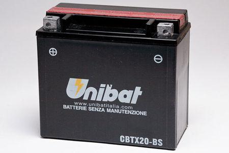 UNIBAT - Acumulator fara intretinere CBTX20-BS (YTX20-BS)