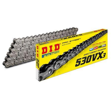 DID - Lant 530VX3 cu 108 zale - X-Ring