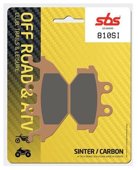 SBS - Placute frana OFFROAD - SINTER 810SI