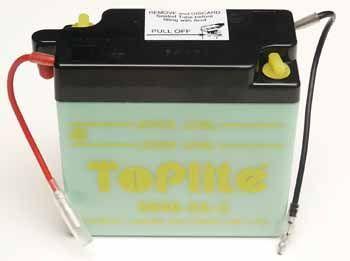 TOPLITE YUASA - Acumulator cu intretinere 6N4B-2A-3