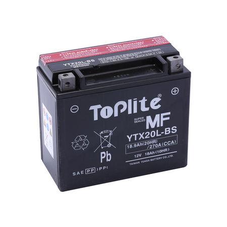 TOPLITE YUASA - Acumulator fara intretinere YTX20L-BS